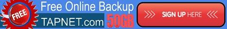 TAPNET Online Cloud Backups