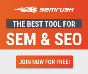 SEM Rush - 7 Day Free Trial