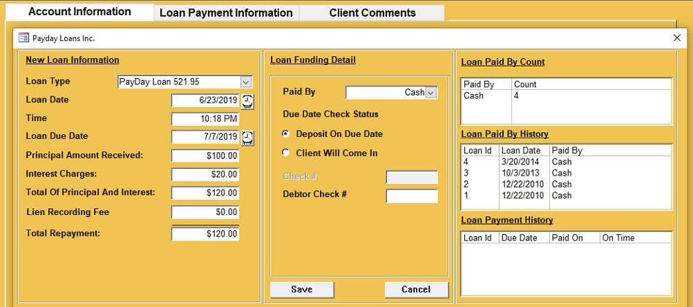 Payday Loans New Loan